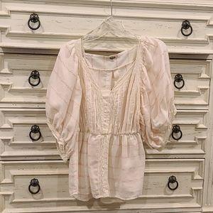 Like new hobo style blouse